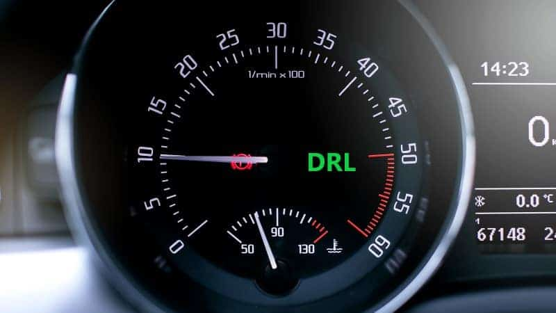 what does drl mean on a honda civic