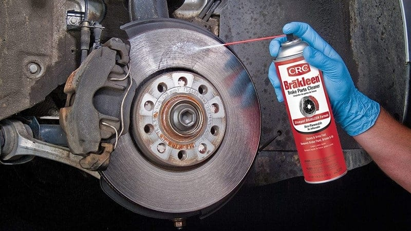 is chlorinated brake cleaner flammable