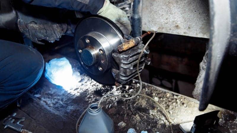 brake fluid leak fix