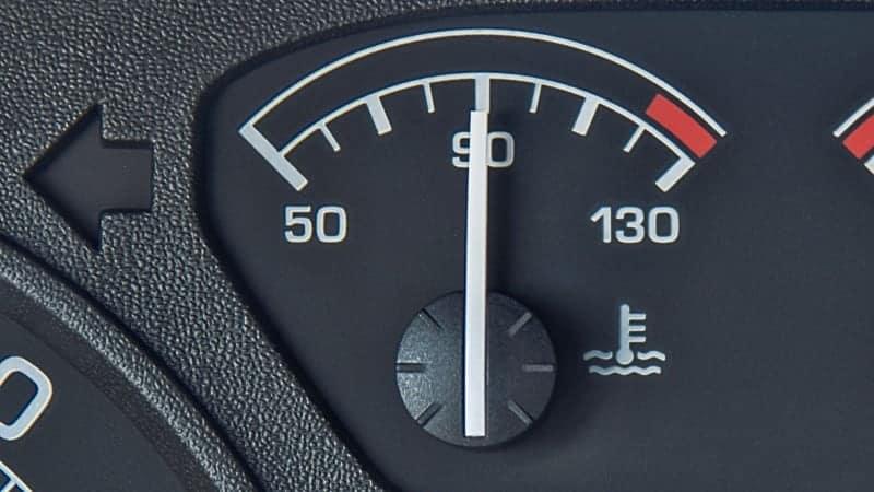 coolant temperature gauge
