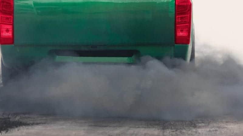 car burning oil fix